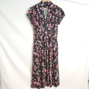 eShatki floral midi dress